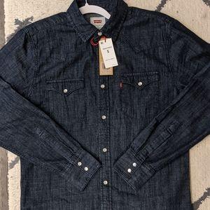 NWT - Levi's Barstow Western Denim Shirt | Sz S